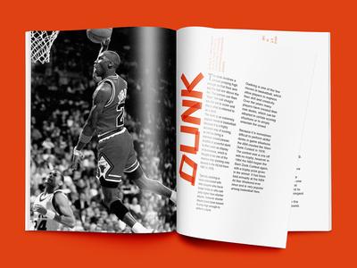 Basketball Terminology Brochure