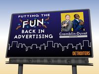 Cramblin-Duvet Advertising