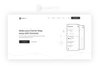 Conecto App Landing Page