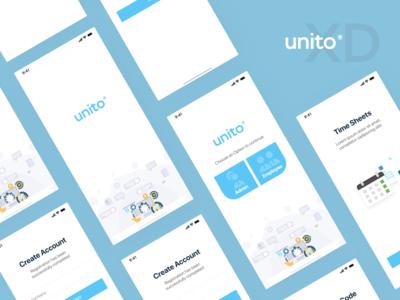 Unito - Task management App UI