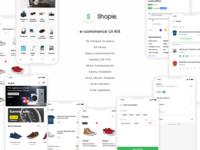 Shopie e-commerce UI Kit