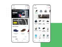 Shopie e-commerce UI