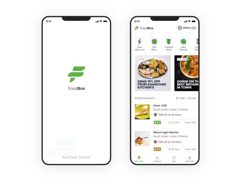 Foodbox - Food Delivery App (Swiggy clone) by Vijay Elumalai