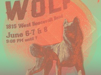 Howlin' Wolf Gig Poster