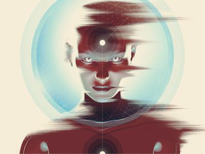 Singular photoshop space singularity singular illustration digital cyborg cinema 4d c4d astronaut android 3d