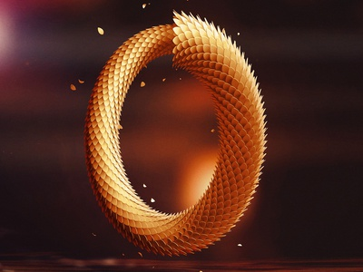Infinite Zero type infinite photoshop illustration digital art concept art concept cinema 4d c4d 0