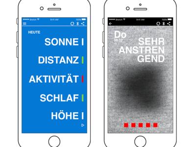 Fitness Tracker App: Picture Progress ui ux progress visualization pictures fitness tracker app design