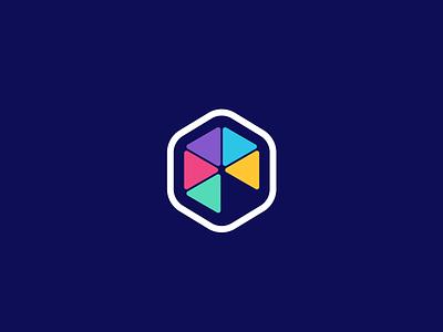 P / Box logo