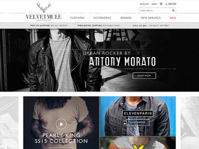 Fashion Store store ecommerce texture clean menswear clothing fashion