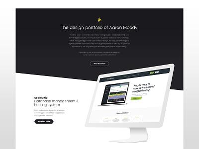Another one website work clean personal design portfolio