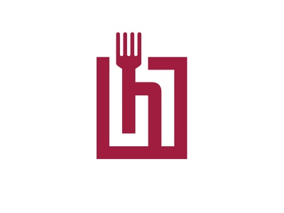 HB logo hb b h text simple brand logo food
