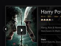Harry Potter UI