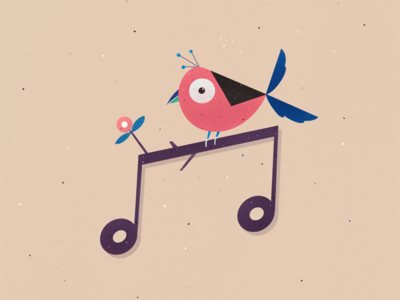 Musically bird