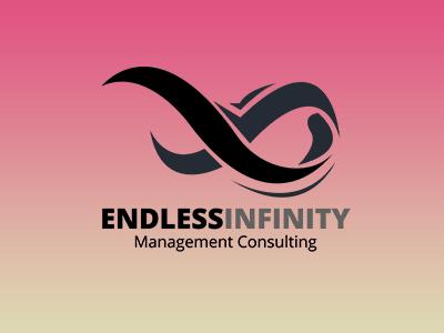 Endless Infinity Symbol Logo Template gradient inannex branding infinity symbol graphics web design template modern logo