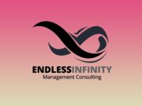 Endless Infinity Symbol Logo Template