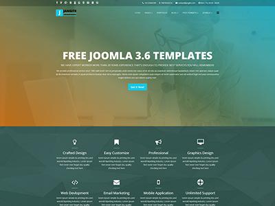 Jangite - Business Free Joomla Template joomla templates responsive css3 html5 bootstrap joomla 3.8 joomla 4 web design free joomla site helix 3 joomla themes joomla template