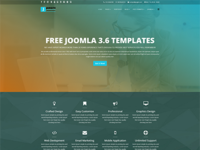 Jangite - Business Free Joomla Template