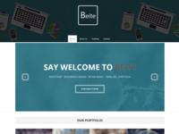 Beite - Free Portfolio Bootstrap Template