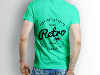 Back side shirt mock up Free Psd