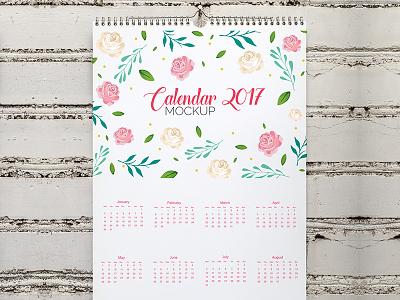Calendar mock up design Free Psd ups real realistic mockups up mock website web template design calendar mockup