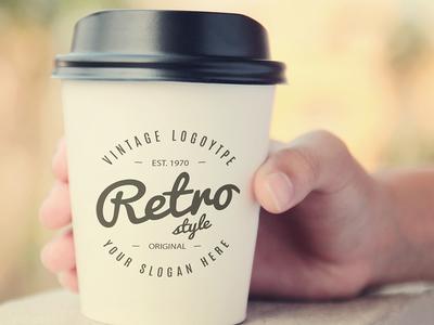 Coffee cup mock up Free Psd