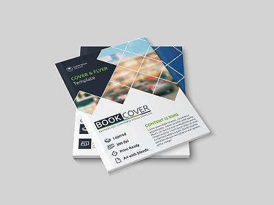 Brochure mock up design Free Psd promotion website web leaflet marketing template design abstract mockup flyer brochure