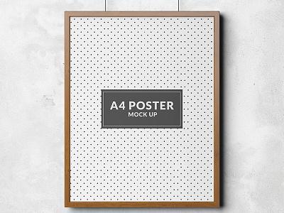 Poster mock up template Free Psd mockups templates up mock website web template mockup poster