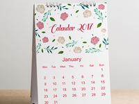 Calendar mock up design Free Psd