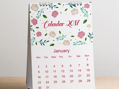 Calendar mock up design Free Psd templates up mock website web template design flowers floral calendar mockup flower