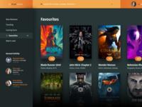 PlayMedia - A Cinema based user interface for desktop