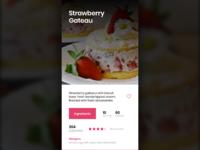 Baking - Mobile App UI Concept