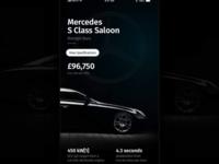 Mercedes - App UI