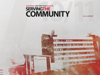 Snippet of Annual Report Cover Concept
