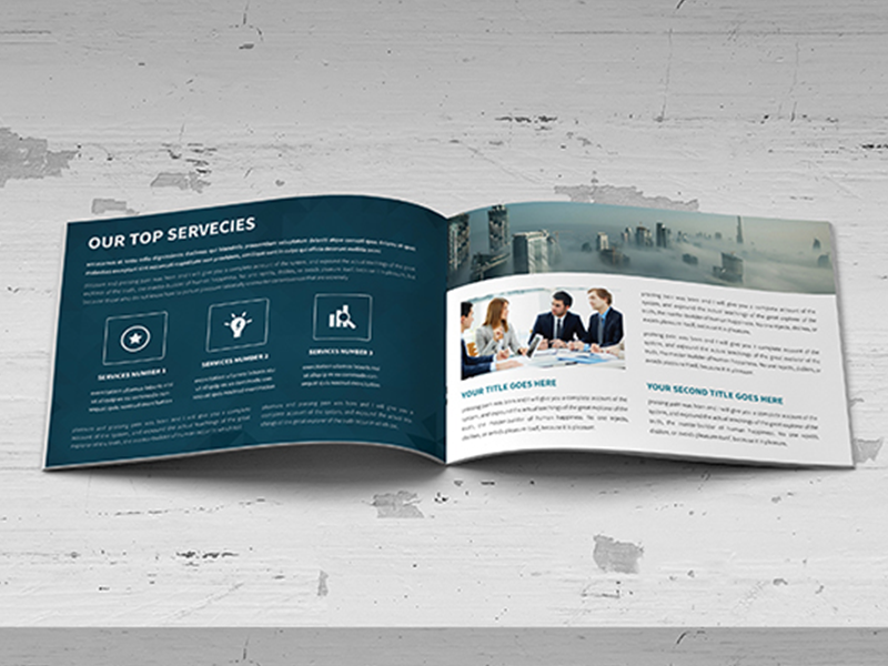 Annual Report Brochure template print logo free design customisable corporate clean catalogue catalogs brochure brand
