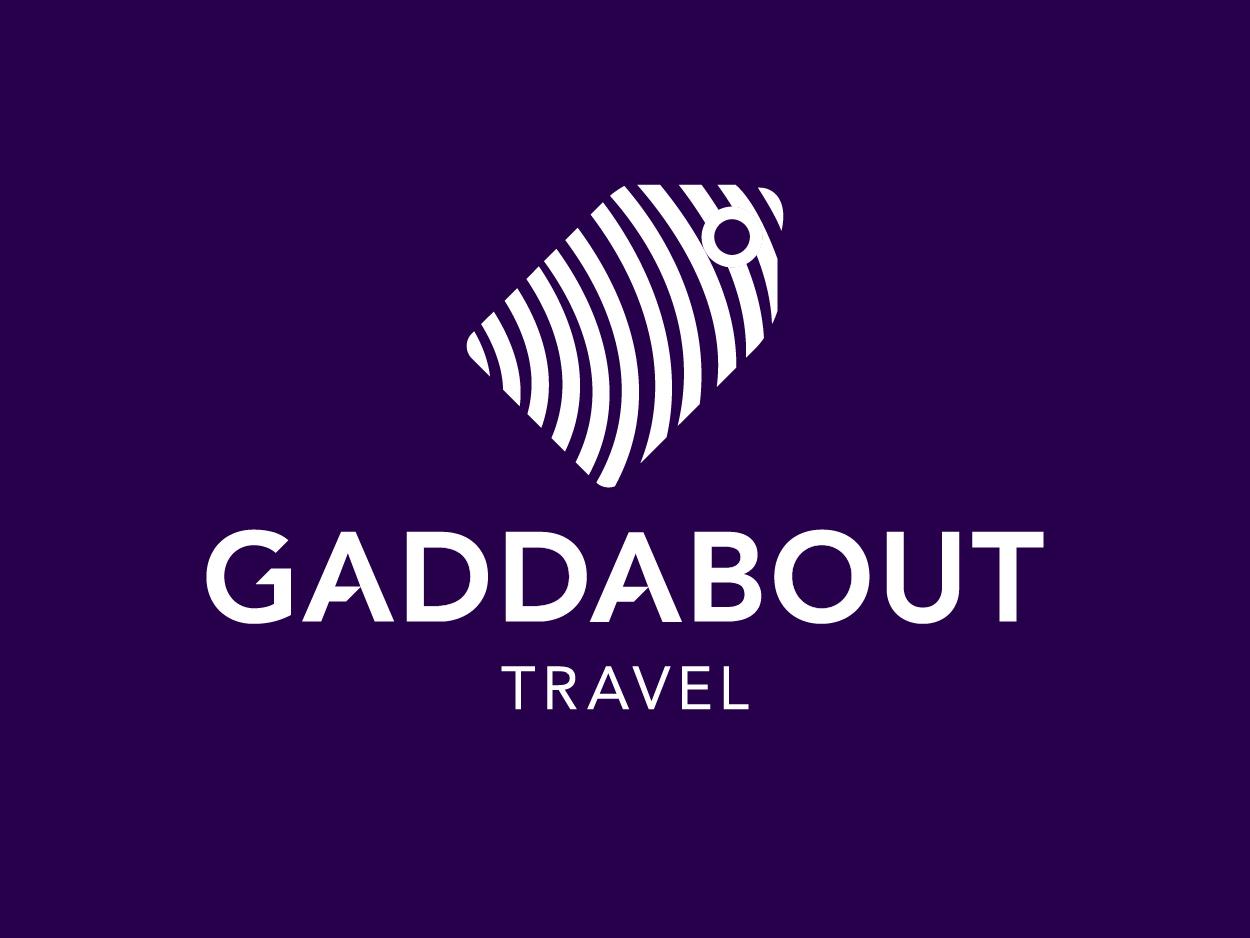 Gaddabout Travel - Brand Identity logodesigner brand design identity design travel travel logo logo design logodesign logo