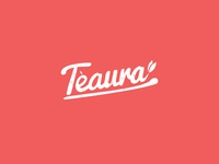 Teaura -  Logo Design