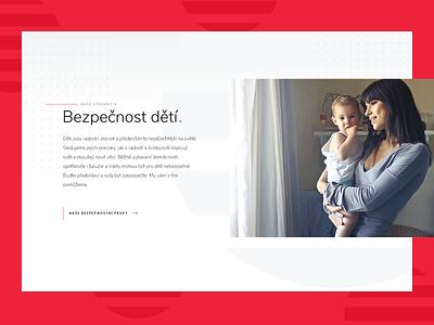 ISOTRA block homepage web design modern ui blinds roller isotra webdesign detail