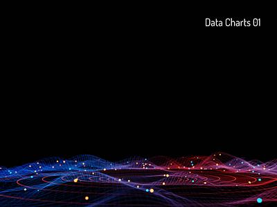 Charts analytics data charts ui practice 3d art b3d illustration blender3d design 3d