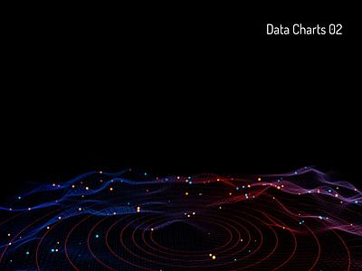 Chartscape data visualization radar analytics data chart practice 3d art b3d illustration blender3d design 3d