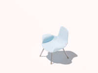 Isometric chair one