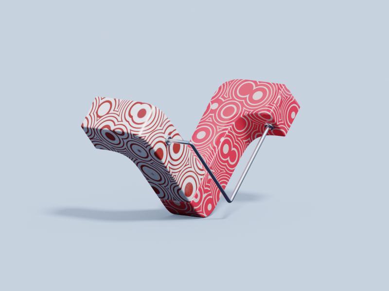 36 days of type - V 36 days of type lettering practice illustration blender3d b3d typography type design 3d art 3d v letter alphabet lettering 36 days of type