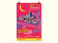 Poster | Design Week Tallahassee 2017