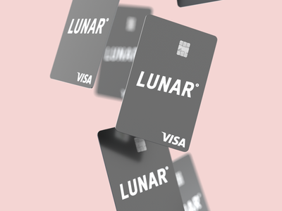 💳 Lunar Standard - Black octane cinema 4d 3d credit card lunar