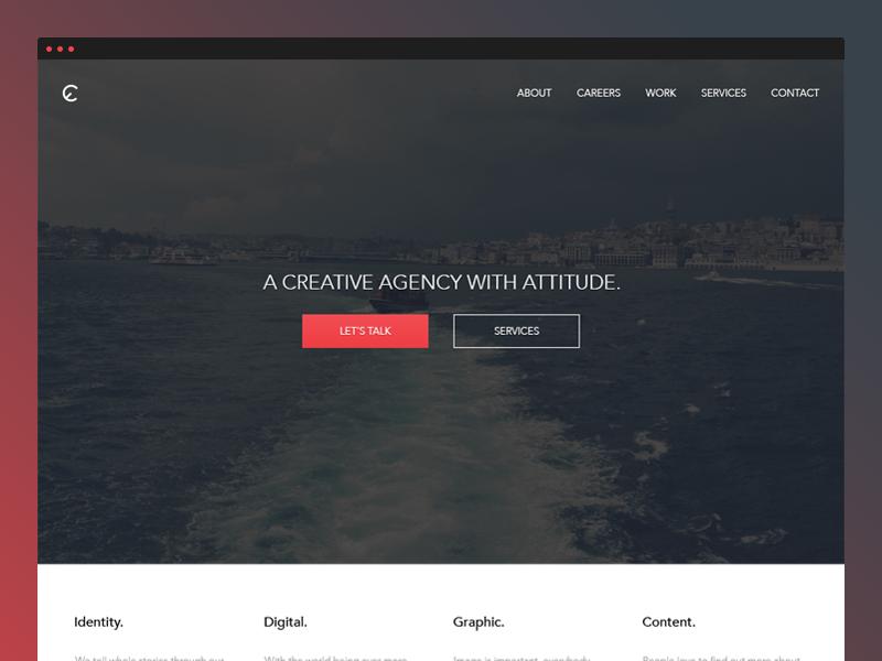EnsembleCreativity - Redesign [Rejected] ensemble creativity redesign website