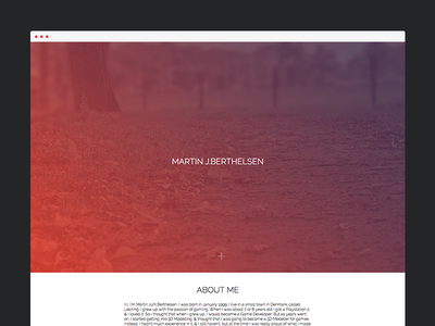 Portfolio Update new update portfolio simple minimal clean html css javascript