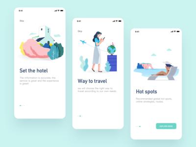 Mobile app - Travel diary