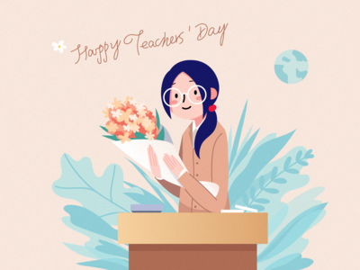 Illustration on teachers' day