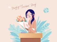 Illustration on teachers' day