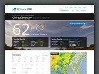 WeatherSTEM Station Page