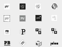 Pb2 logo concepts